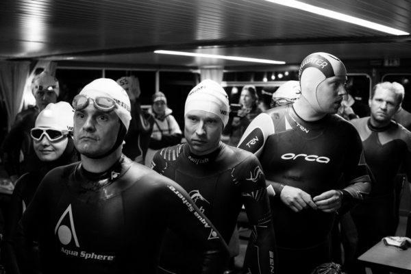 WINTERMAN Xtreme Triathlon 2017. Plavání